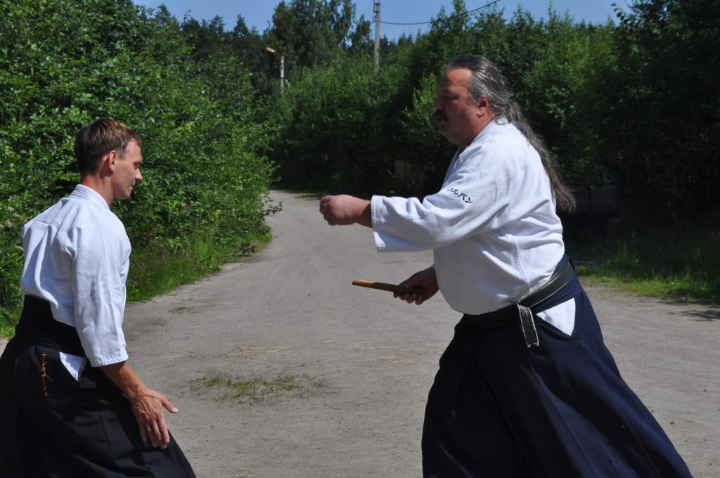 занятия айкидо летом
