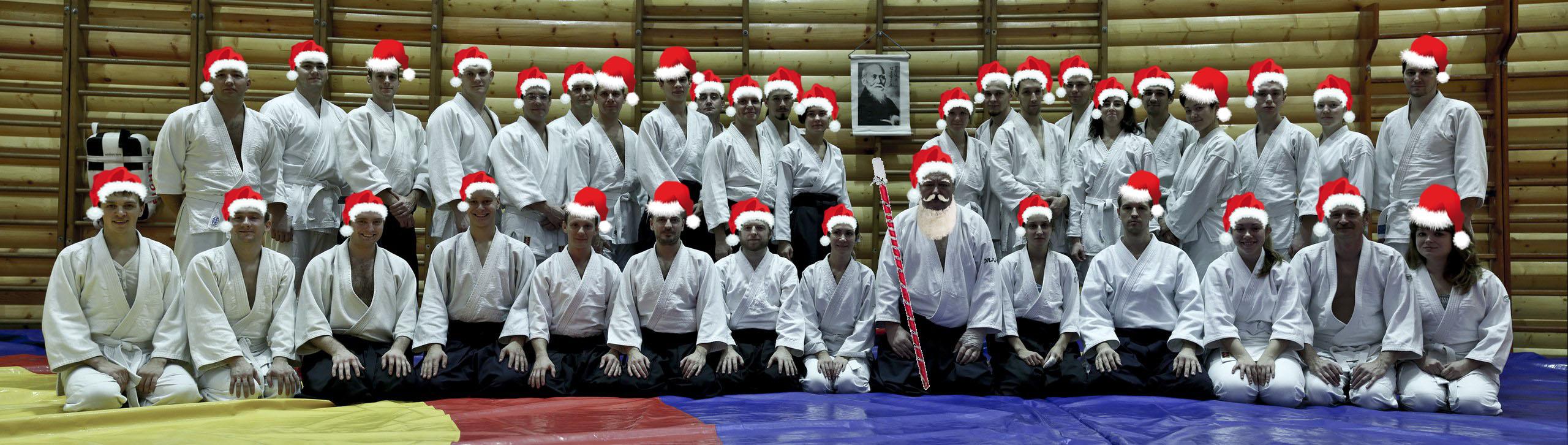 айкидо и новый год